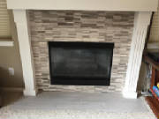 fireplace refacing, remodeling, residential remodeling, home improvement, littleton