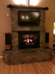 Fireplace refacing, rennovations, home improvement, highlands ranch