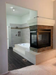fireplace refacing, Roxborough, residential remodeling, home improvement