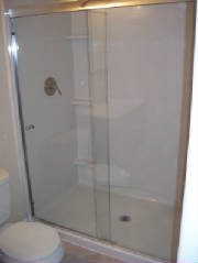 basement bath installation, residential remodeling, Centennial, home improvemnt