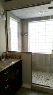 master bath remodel, bathroom remodeling, residential remodeling, roxborough