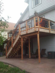 deck installation, deck rennovation, deck remodeling, home rennovation, roxborough