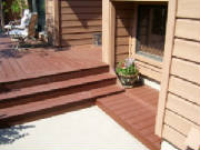 decks/workdeckgarysteps.jpgdeck installation, deck rennovation, deck replacement, home rennovation, highlands ranch